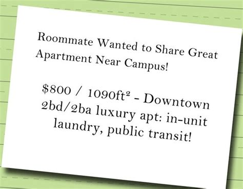room mate wanted saga 1 how to post a wanted roommate ad by roomful housing corner