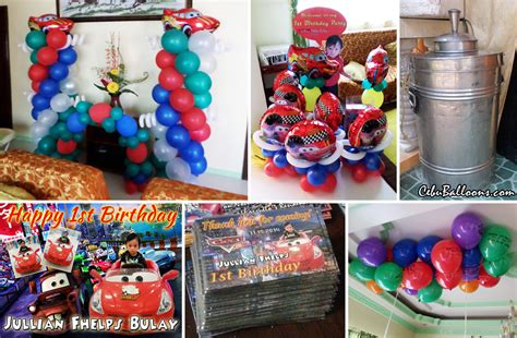 cars themed birthday giveaways cars lightning mcqueen cebu balloons and party supplies