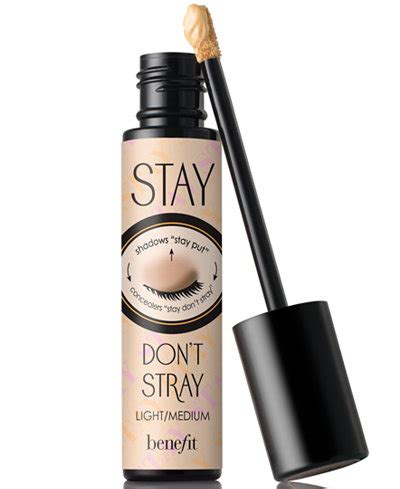 Eyeshadow Benefit benefit cosmetics stay don t stray eyeshadow primer makeup macy s