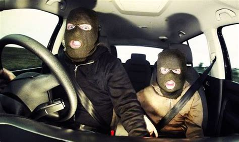 Auto Gang by Masked Gang Of Car Jackers Threatened Commuters In Leeds