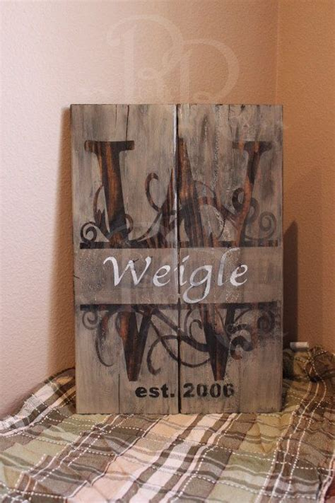 family wood sign home decor family monogram last name wood sign family established