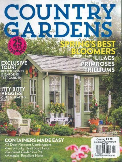 bhg country gardens magazine subscription