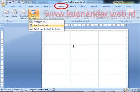 cara membuat label undangan pada ms word 2007 cara membuat kartu undangan di microsoft word 2013
