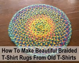 how to make beautiful braided t shirt rugs for nothing