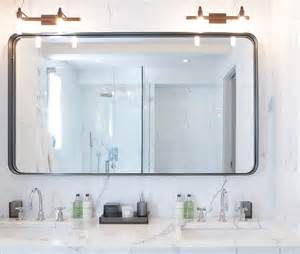 Houzz Bathroom Design Custom Made Bathroom Mirror Modern Bathroom Mirrors
