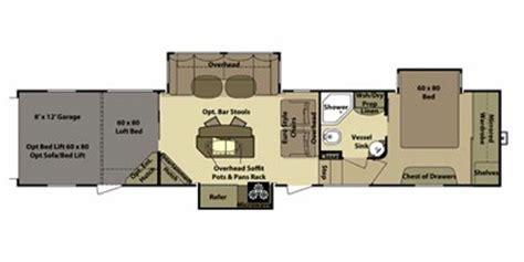 open range hauler floor plans 2011 open range rv rolling thunder fifth wheel series m 397rgr specs and standard equipment