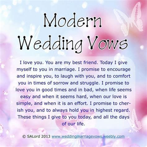 25  best ideas about Simple wedding vows on Pinterest