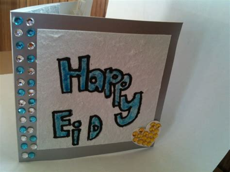 Handmade Eid Greeting Cards - handmade eid cards greeting cards