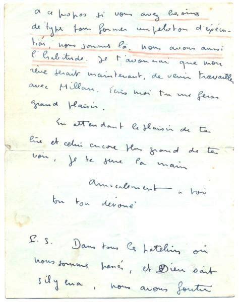 lettre d une adh 233 document 27 171 nous avons foutu la marianne en l air 187 lettre d un milicien au chef de la milice