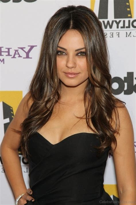 Mila Kunis Hairstyle by 51 Lovely Hairstyles Of Mila Kunis