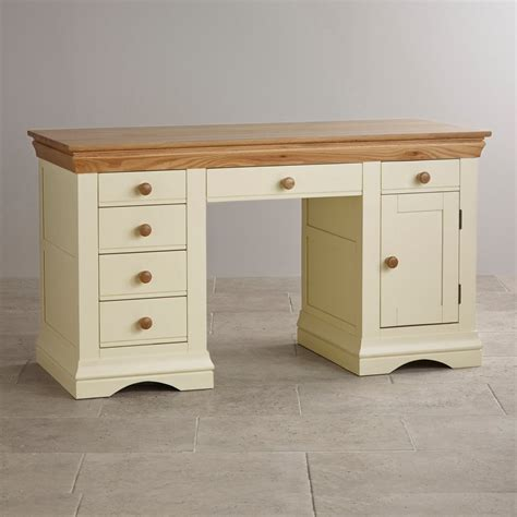 Cottage Style Computer Desk Country Cottage Painted Computer Desk In Solid Oak