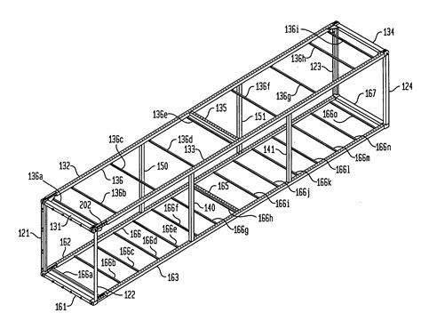 Modified A Frame House patent us20070000921 one way cargo container google