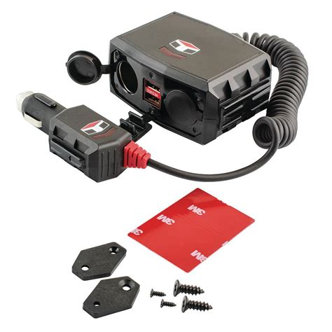 Kit Charger 24volt Auto Charger Up To 200ah 12 volt car charger with lightning connector in black 23677 the home depot