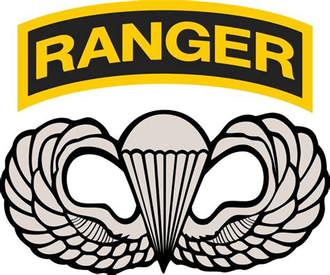 Kaos Airborne Logo 1 Cr by U S Army Ranger Airborne Wings Vinyl Decal