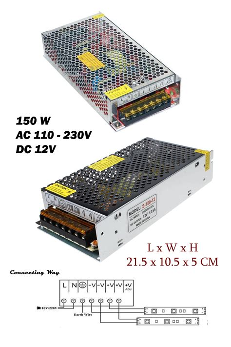 Dc Led L by Ac 230v To Dc 12v Led Light Led Power Supply