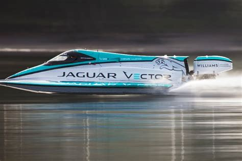 the boat jaguars jaguar broke a world record with this tiny electric boat