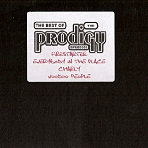 prodigy best of best of prodigy 01 the prodigy best of collection