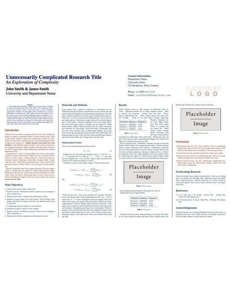 latex templates 187 conference posters