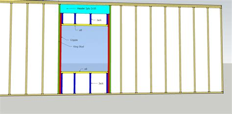 Basement Window Header by Jack Or Cripple Page 4 Carpentry Contractor Talk