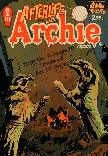 afterlife revolution books comic book zombies afterlife with archie joins the undead