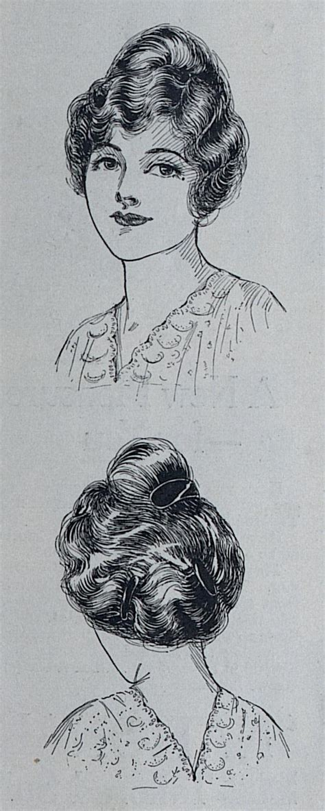 hairstyle 1914 women 1914 hairstyles a hundred years ago