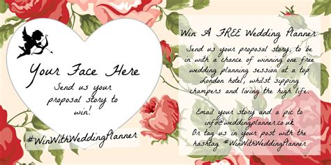 wedding planner stories how he asked share your story to win weddingplanner co uk