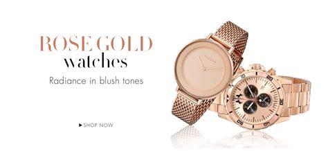 Fossil Chronograph Premium Ledies Rosegold Black in premium watches watches