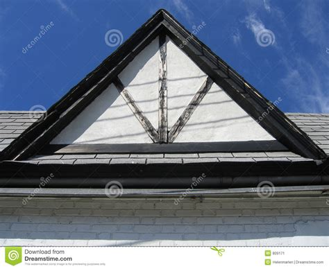 Triangle Shaped Roof Triangular Roof Stock Image Image 809171