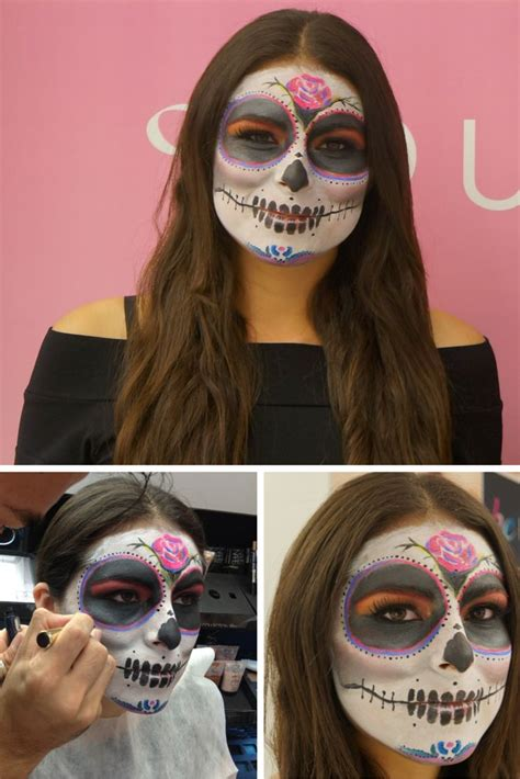 tutorial makeup catrina catrina make up tutorial for day of the dead day of the