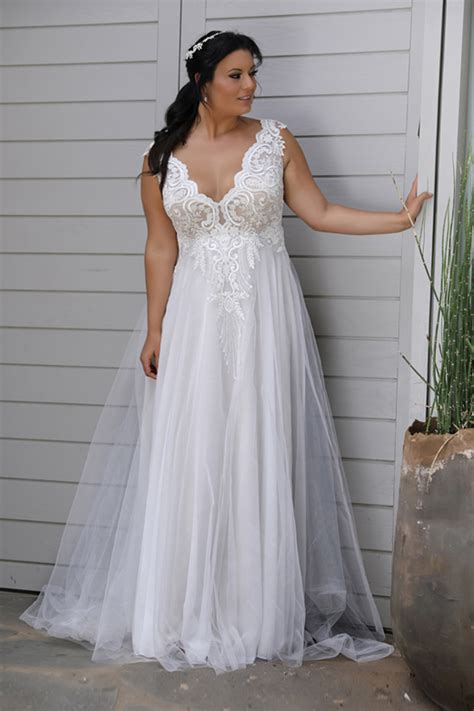 Wedding Dresses Plus Size by Plus Size Wedding Dresses Melbourne Australia Sleeve
