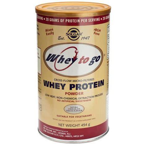 whey better protein powder whey to go protein powder from solgar wwsm