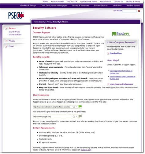 www psecu home psecu offers free trusteer anti malware browser in