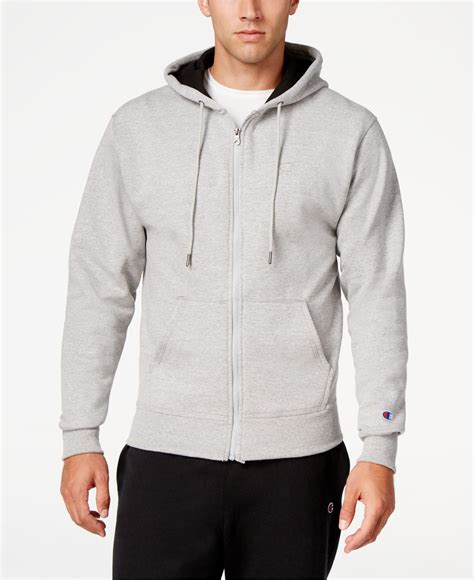 Shirt Oxford Soft Blue Line Mix Grey chion s powerblend fleece zip hoodie in gray for