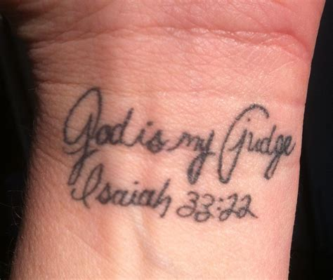 scripture tattoos on wrist wrist scripture verse isaiah 33 22 damber