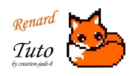 Tuto Pixel Art Petit Renard Fox Youtube