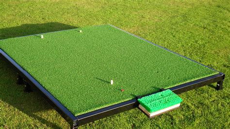 How To Make A Golf Practice Mat by S Promotions Golf Course Products Manufactured In