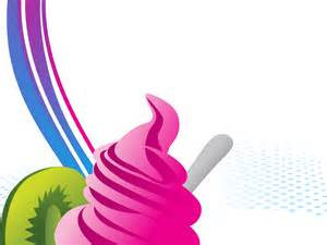 sweet ice cream backgrounds foods amp drinks ppt backgrounds