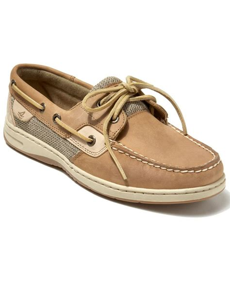 boat shoes macys sperry top sider women s bluefish boat shoes all women s