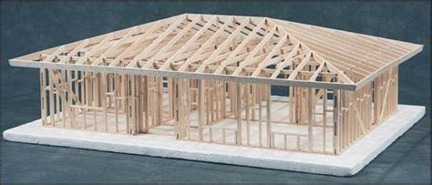 Spanish House Floor Plans by House Framing Kit 2 Bedroom Hip Roof Kit 044720