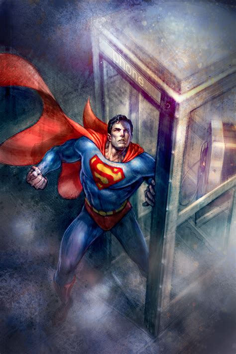 painting superman secrets of superman s by techgnotic on deviantart
