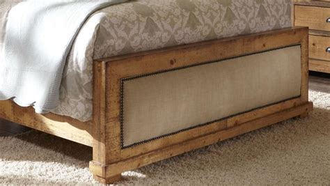 distressed pine bedroom furniture willow distressed pine upholstered bedroom set p608 34 35