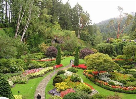Top Botanical Gardens In The World The Butchart Gardens The Most Beautiful Botanical Gardens In The World