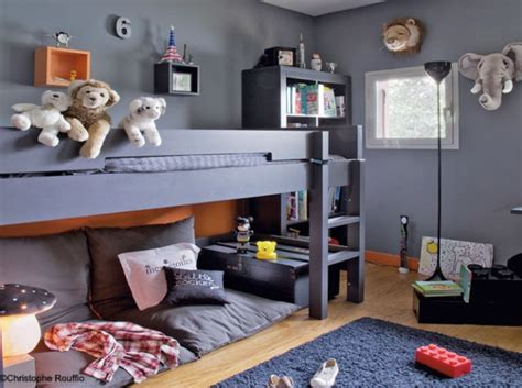 bunk bed with play area underneath 35 cool kids loft beds kidsomania