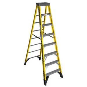 home depot 10 foot ladder werner 10 ft fiberglass step ladder with 375 lb load