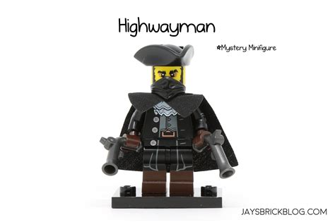 Brick Lego Lego Minifigure Series 17 Highwayman review lego minifigures series 17