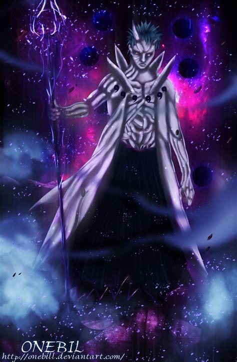 Jaket Anime Obito Ultimate 640 obito form by onebill on deviantart