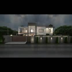 boundary wall lighting for dr nooshin s villa