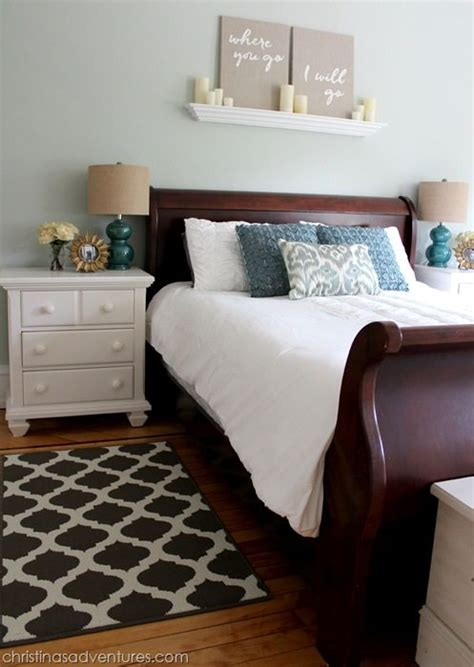 sherwin williams sea salt in a room with lighting pretty bedroom with cherry