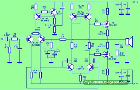 Harga Mosfet Sanken 100 watt mosfet power lifier skema rangkaian elektronika