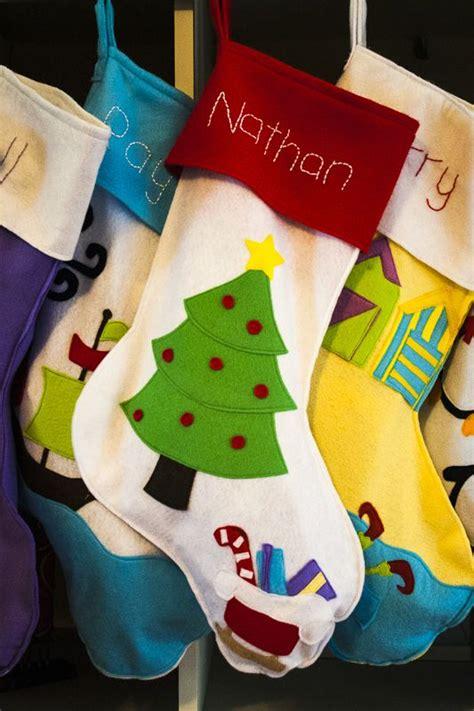 ideas  felt christmas stockings  pinterest